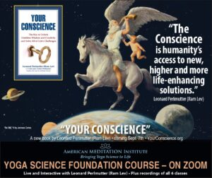 """""""The Conscience is humanity's access to new, higher and more life-enhancing solutions."""""""