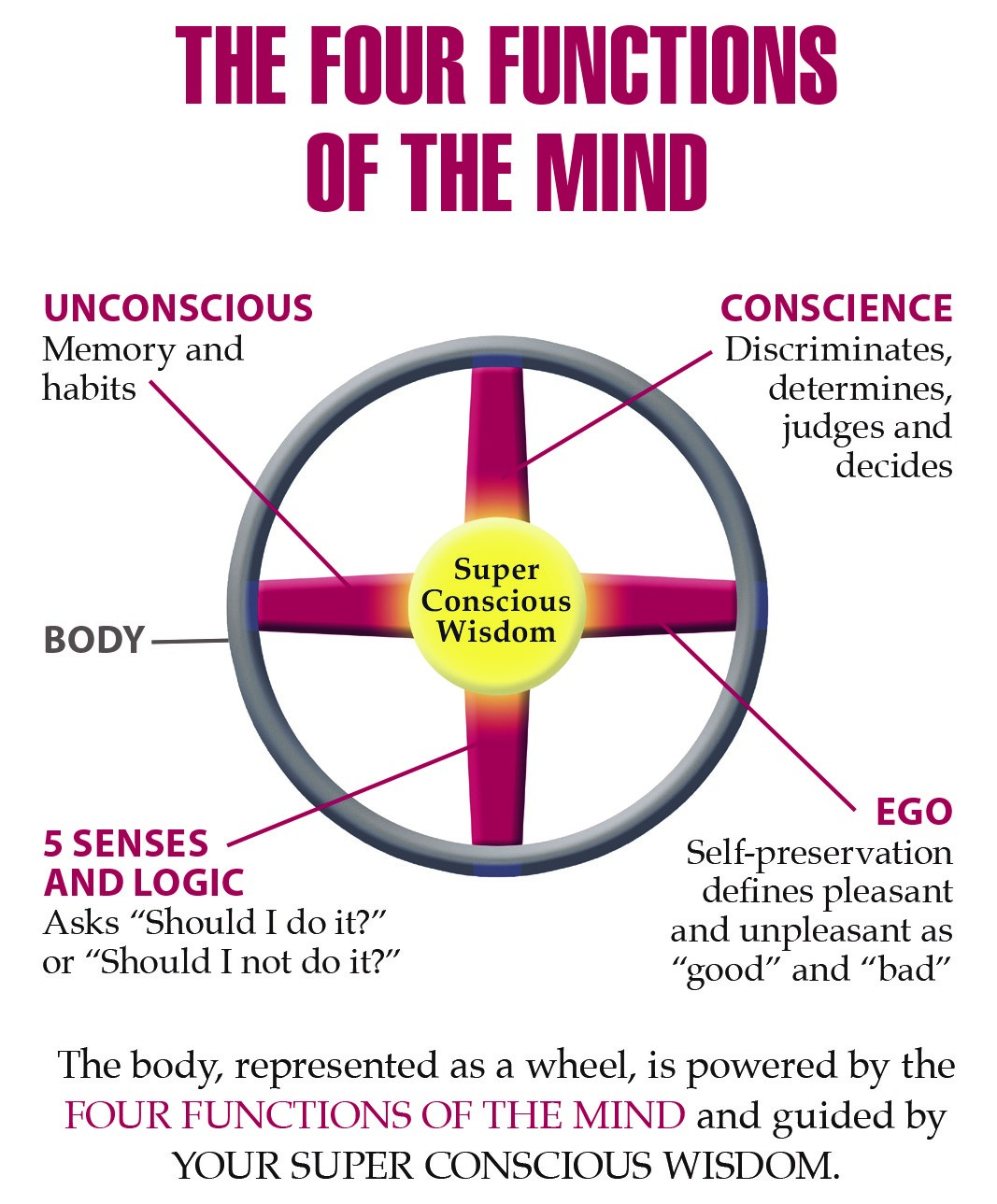 Four Functions of The Mind_American Meditation Institute