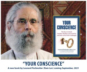 Your Conscience book cover with Leonard Perlmutter